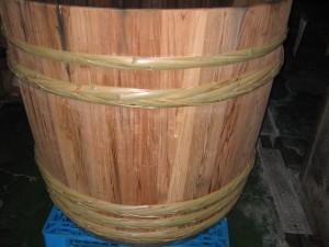 木桶がきました。