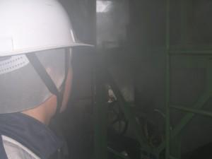 熱気ムンムン、蒸気バンバン