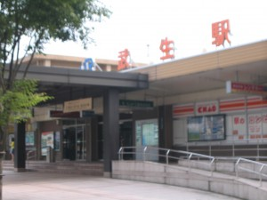 わがふるさとの武生駅