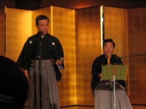 詩吟です。歌い手は穂水流詩吟 総範 石橋先生です。