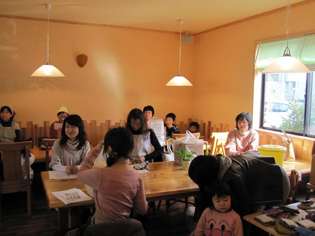 味噌作り教室。